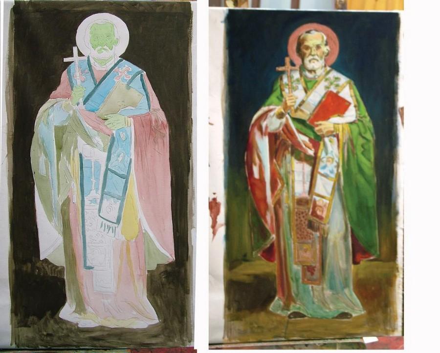 proces slikanja