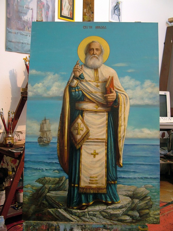 sveti nikola ikona