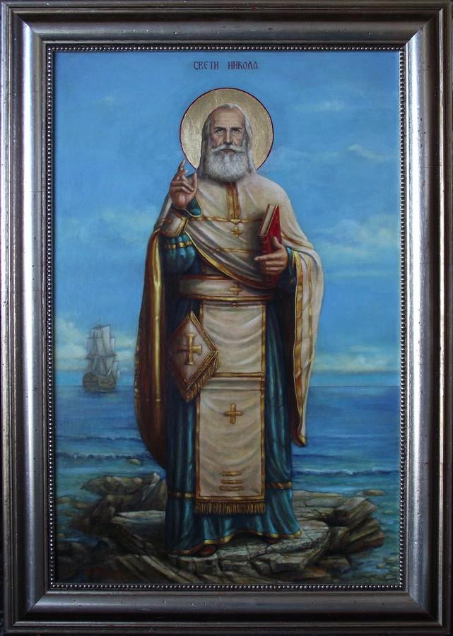 ikona svetog nikole